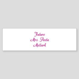 HG Future Mrs. Peeta Mellark Sticker (Bumper)