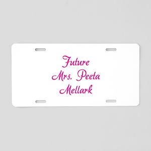 HG Future Mrs. Peeta Mellark Aluminum License Plat
