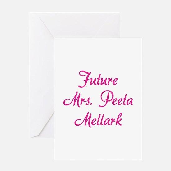 HG Future Mrs. Peeta Mellark Greeting Card