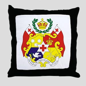 """""""Tonga COA"""" Throw Pillow"""