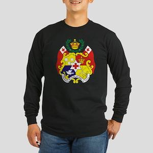 """""""Tonga COA"""" Long Sleeve Dark T-Shirt"""