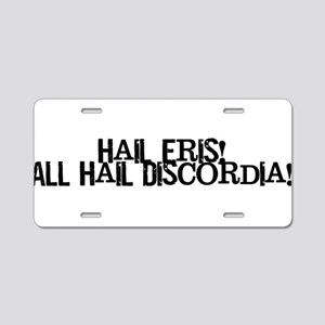 Hail Eris! All Hail Discordia Aluminum License Pla