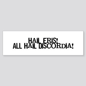 Hail Eris! All Hail Discordia Sticker (Bumper)