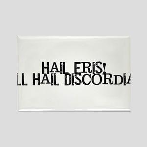 Hail Eris! All Hail Discordia Rectangle Magnet