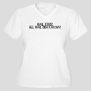 Hail Eris! All Hail Discordia Women's Plus Size V-