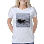 Mother and Baby Otter Women's Classic T-Shirt
