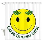 Carpe Dulcis Diem Shower Curtain