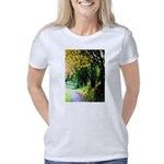 Tree-Lined Path Women's Classic T-Shirt