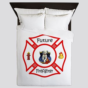 Future Firefighter Red Queen Duvet