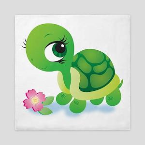 Toshi The Turtle Queen Duvet