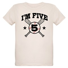 5 Year Old Baseball T-Shirt