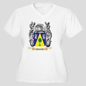 Bauer Family Crest - Bauer Coat Plus Size T-Shirt