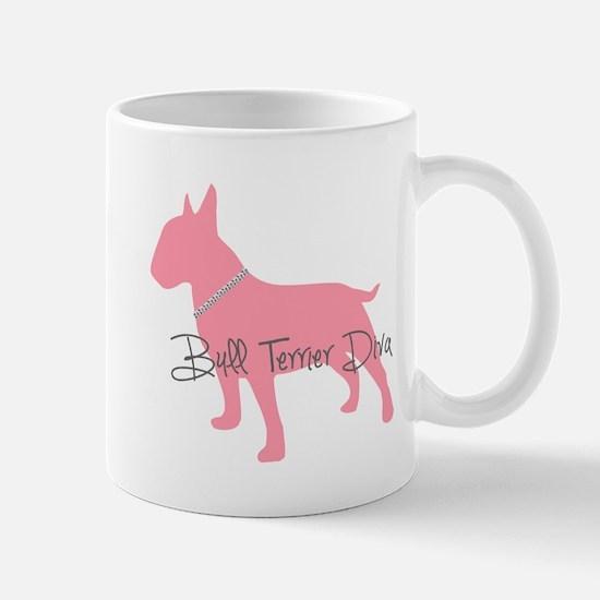 Diamonds Bull Terrier Diva Mug