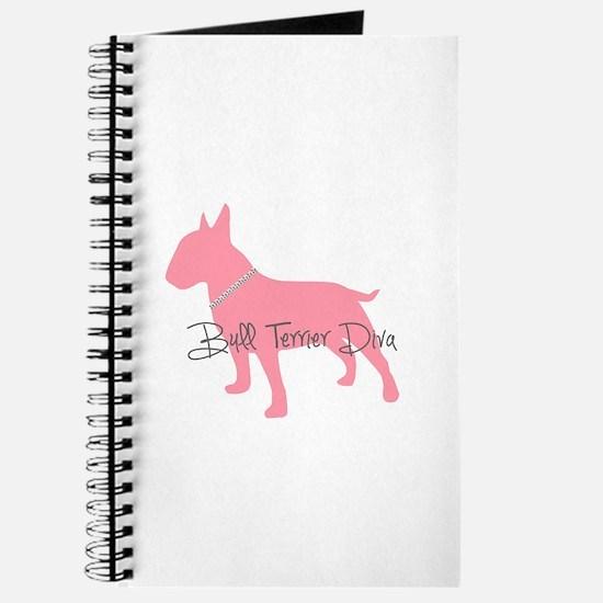 Diamonds Bull Terrier Diva Journal