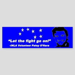 Patsy O'Hara Bumper Sticker