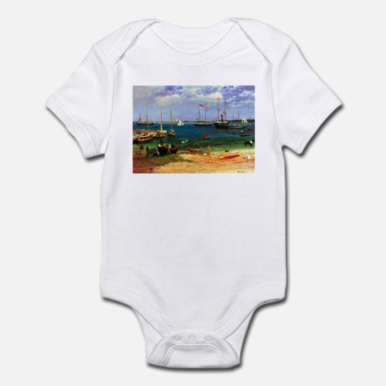 Albert Bierstadt Nassau Infant Bodysuit