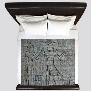 Cleopatra and Caesarion King Duvet