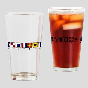 Nautical Austria Drinking Glass