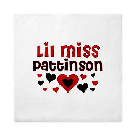 Lil Miss Pattinson Queen Duvet