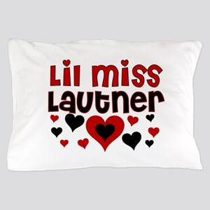 Lil Miss Taylor Lautner Pillow Case