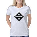 hazmat_10x10_dot_democrat_ Women's Classic T-Shirt