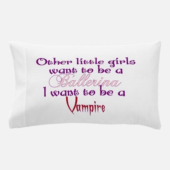 Ballerina Vampire Pillow Case