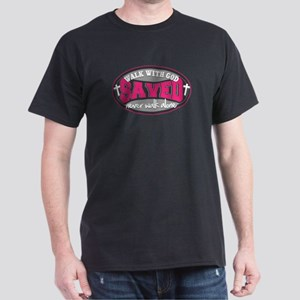 Walk With God(Pink) Dark T-Shirt