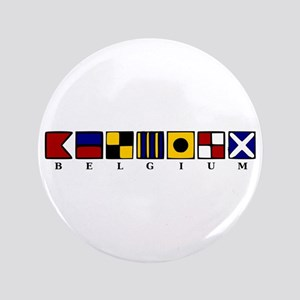 "Nautical Belgium 3.5"" Button"