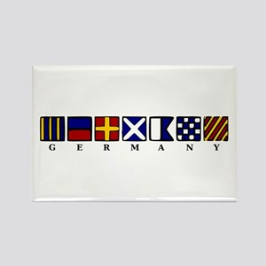 Nautical Germany Rectangle Magnet