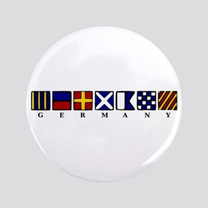 """Nautical Germany 3.5"""" Button"""