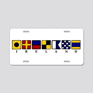 Nautical Ireland Aluminum License Plate