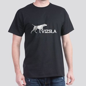 Men's Vizsla Dark T-Shirt (silhouette)