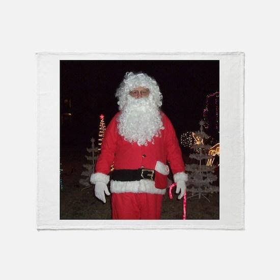 Christmas Santa Throw Blanket