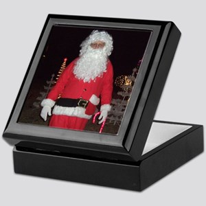 Christmas Santa Keepsake Box