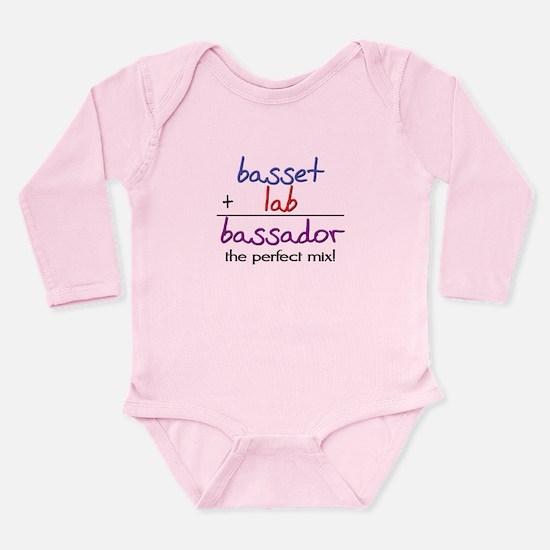 Bassador PERFECT MIX Long Sleeve Infant Bodysuit