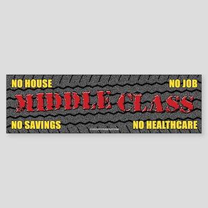 Middle Class (Touring) Sticker (Bumper)