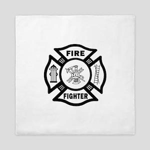 Firefighter Queen Duvet