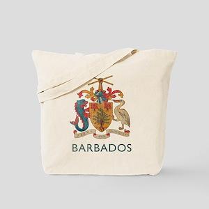 Vintage Barbados Tote Bag
