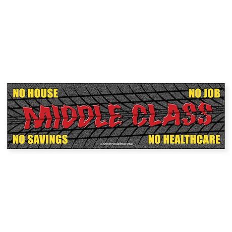 Middle Class (Performance) Sticker (Bumper)