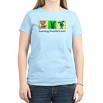 Learning Shouldn't Hurt Women's Colored Tee