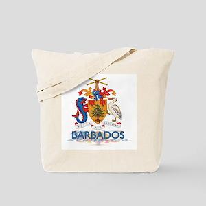 3D Barbados Tote Bag