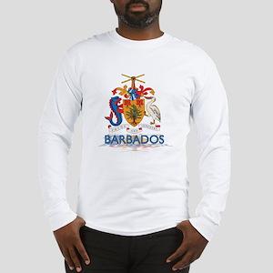 3D Barbados Long Sleeve T-Shirt