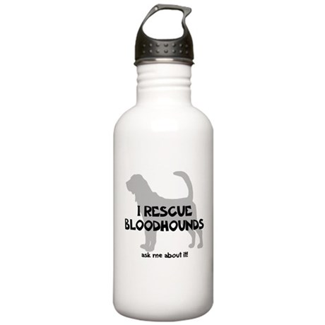 I RESCUE Bloodhounds Stainless Water Bottle 1.0L