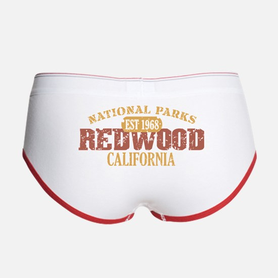 Redwood National Park CA Women's Boy Brief