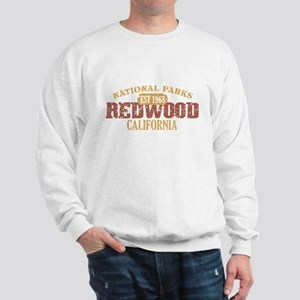 Redwood National Park CA Sweatshirt