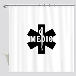 Medic EMS Star Of Life Shower Curtain