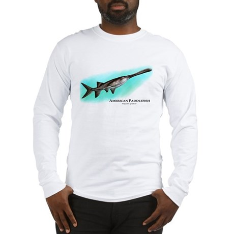 American Paddlefish Long Sleeve T-Shirt