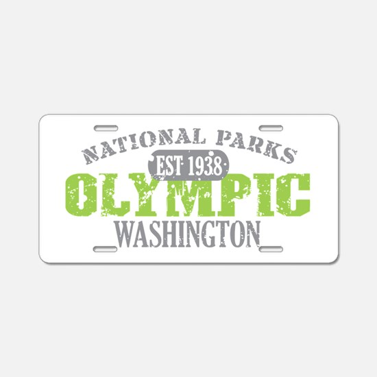Olympic National Park WA Aluminum License Plate