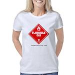 10x10-flammable-gas-1-0 Women's Classic T-Shirt