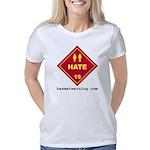hazmat_10x10_dot_hate_1c   Women's Classic T-Shirt